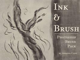 Brush Pack - Ink And Brush by rillani