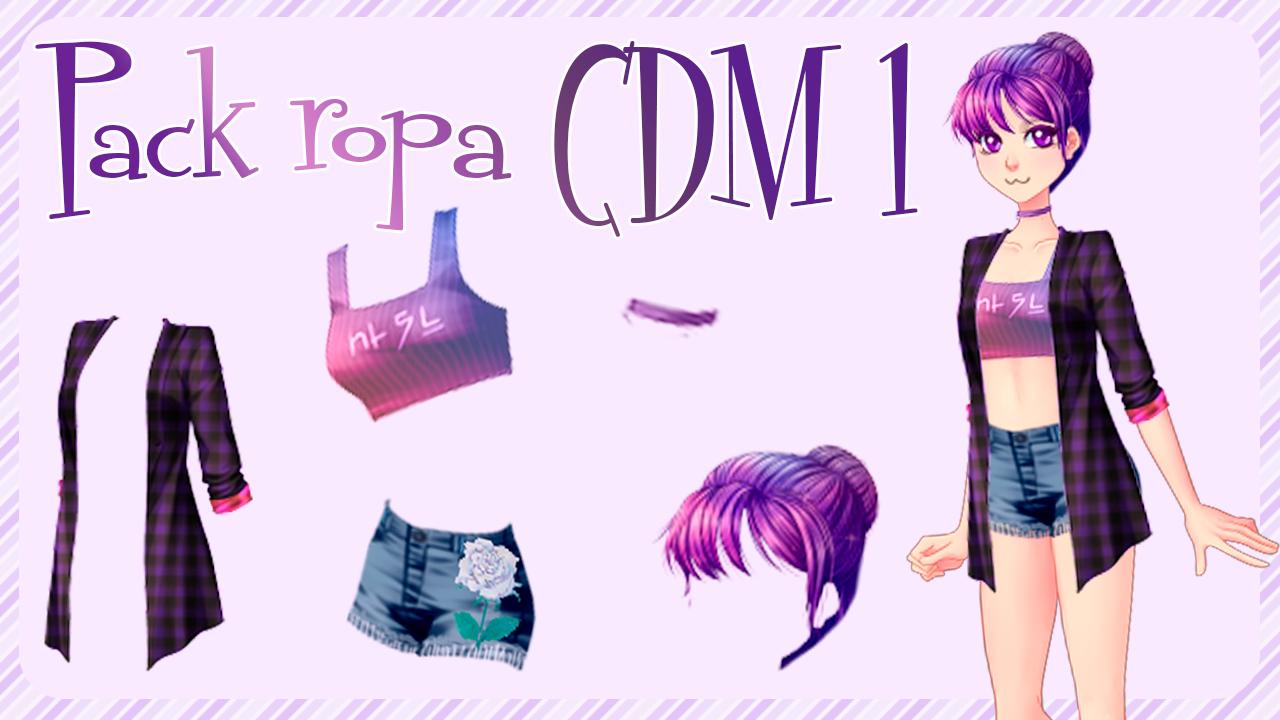 Pack ropa CDM 1 by HachikoGamer by HachikoGamer