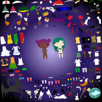 Ginormous Dress-up Game by ExXies