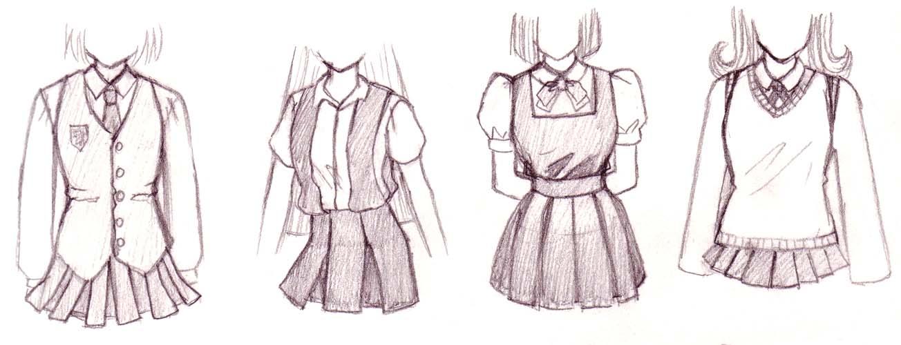 Anime clothes by GJAD27 on DeviantArt