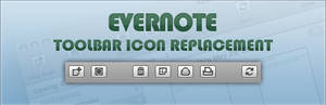 Evernote 3 Toolbar Icons