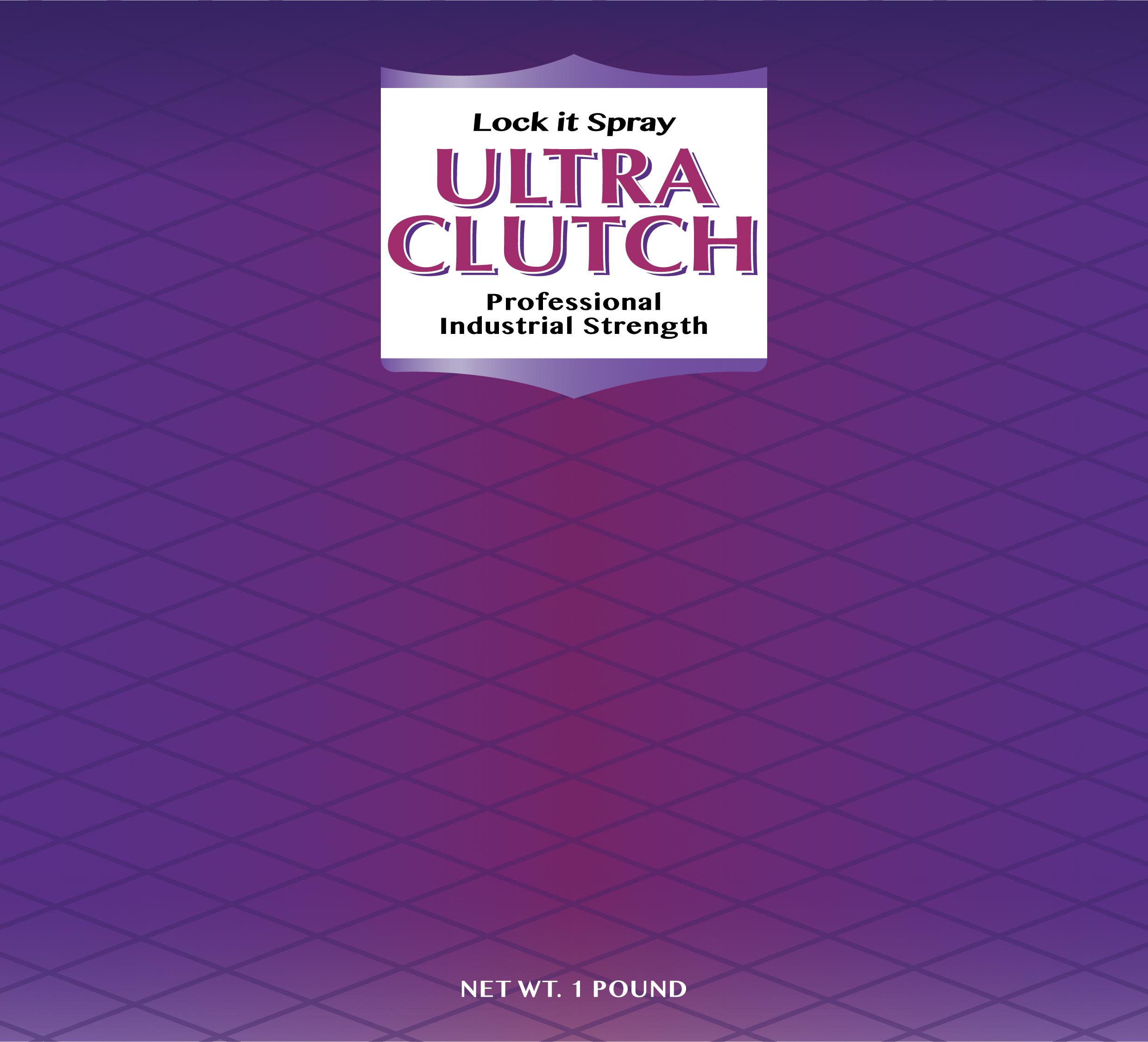 Ultra Clutch Hairspray Label (Broadway Version) by zac242 ...