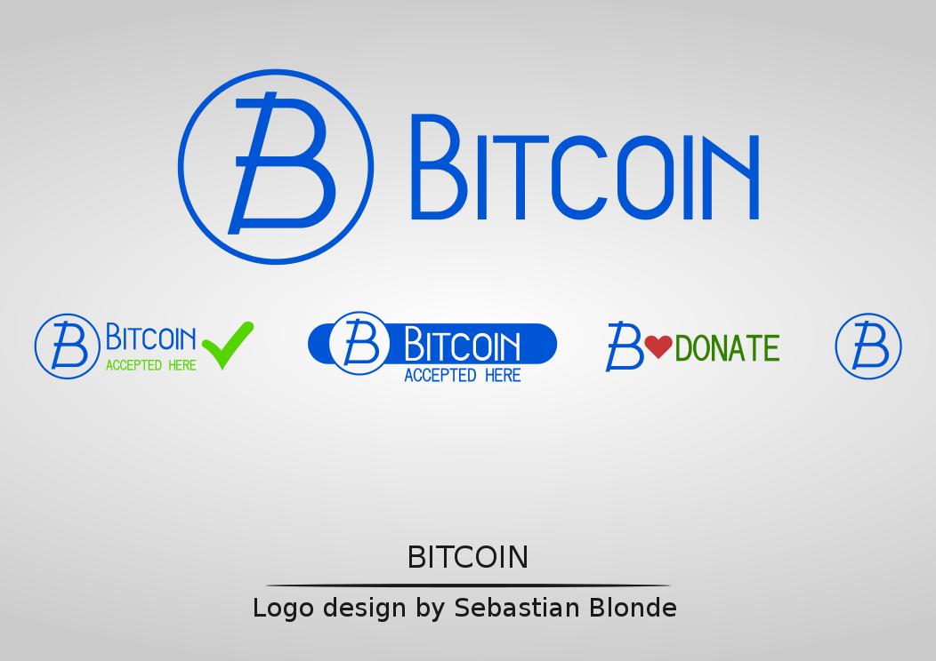 Bitcoin Logo Set by sebastianblonde