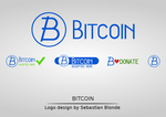 Bitcoin Logo Set by sebastianblonde