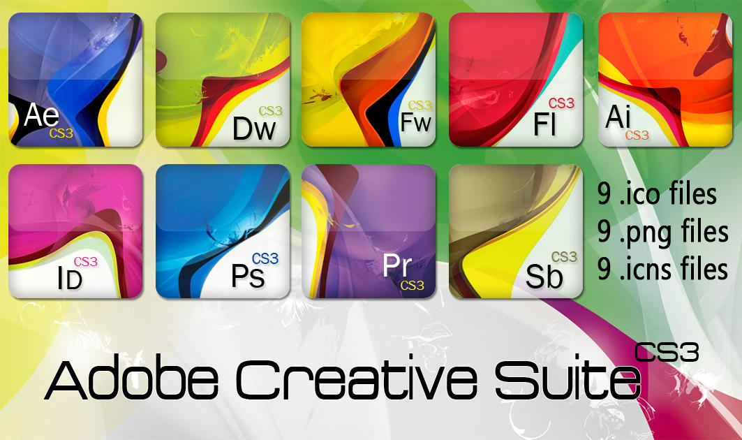 Adobe Creative Suite CS3 Icons by elias23