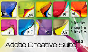 Adobe Creative Suite CS3 Icons