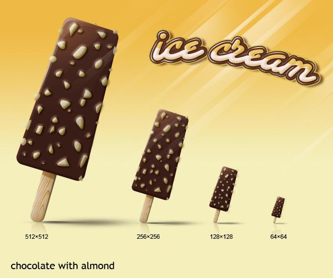 ice cream icon series-1 by rockingonion