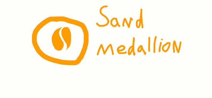 Sand Medallion