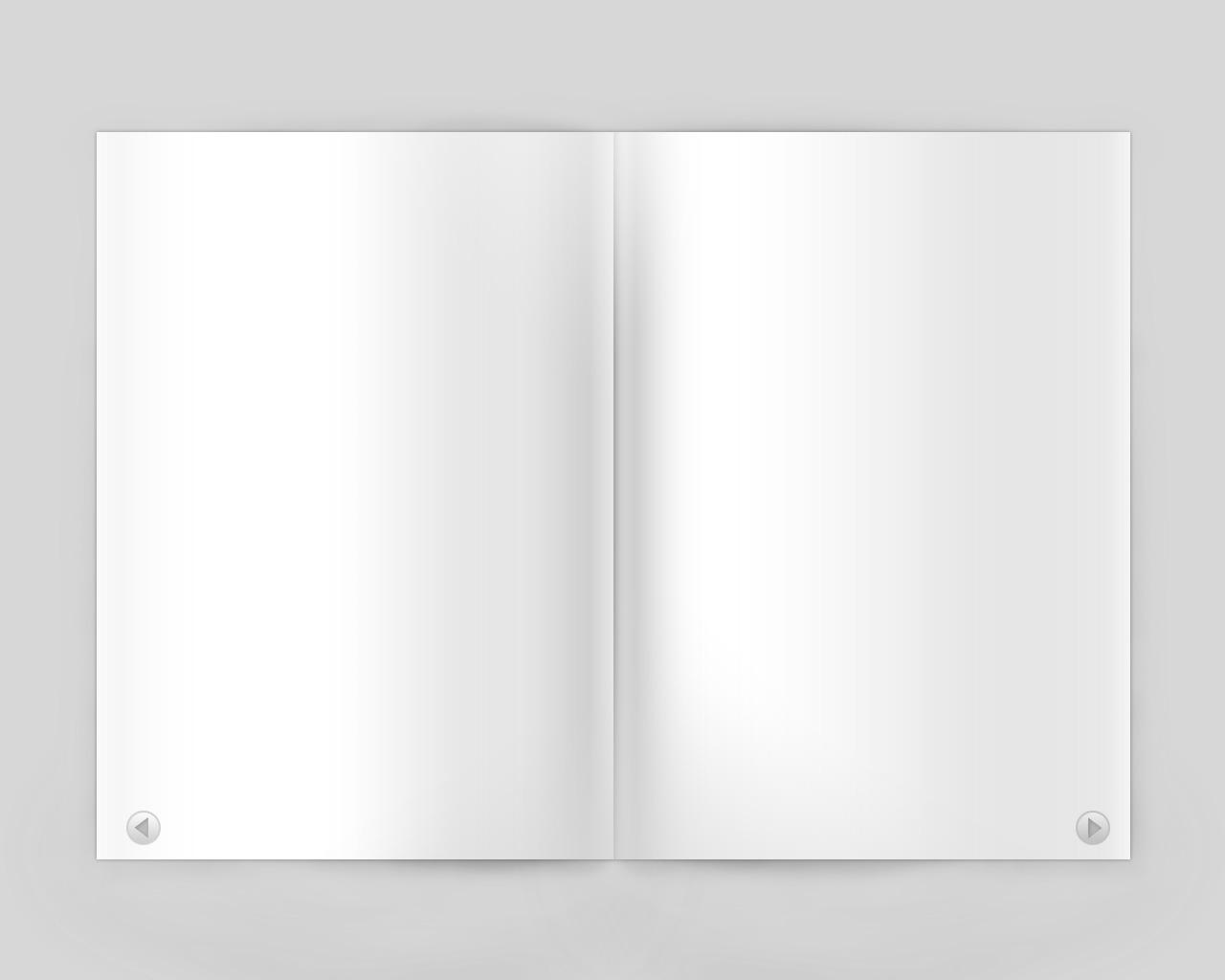 Magazine PSD source file