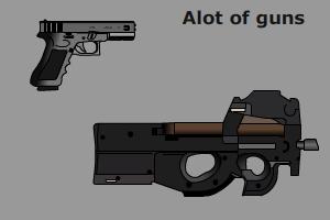 Alot of guns by b1ohazard90uk