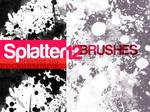 SPLATTERS12-  brush set