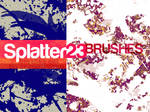 SPLATTER23- brush set