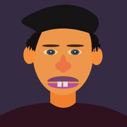 Self Portrait by xytonmoy