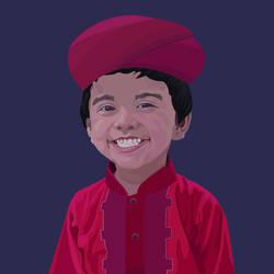 Beautiful Kid Smiling by xytonmoy