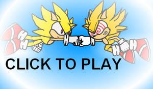 Super Sonic VS Super Sonic by leviathan-ran