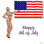 4 Th of July flag by art-by-Amaranth
