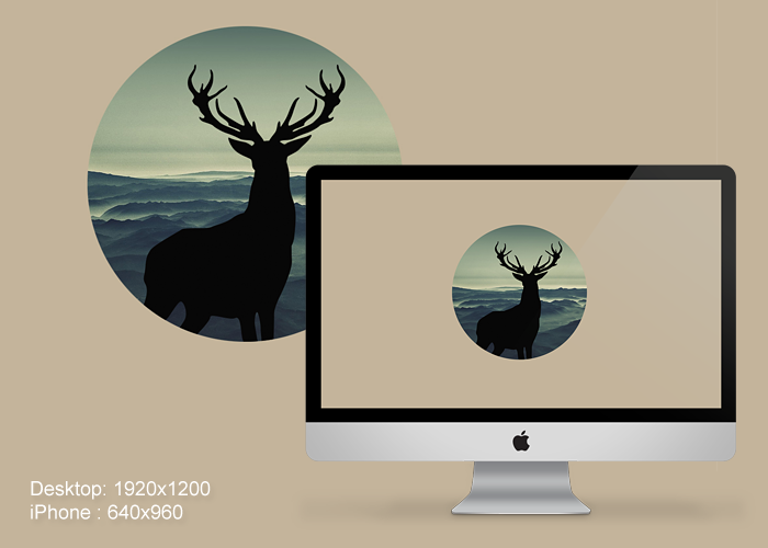 Deer Wallpaper For PC And IPhone By PaulDoK On DeviantArt