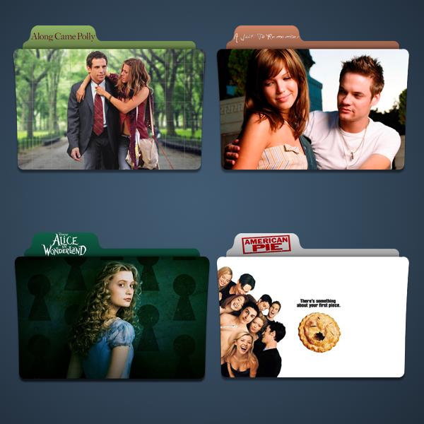 A Movie Folder Icon Pack by Kliesen