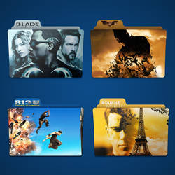 B Movie Folder Icon Pack by Kliesen