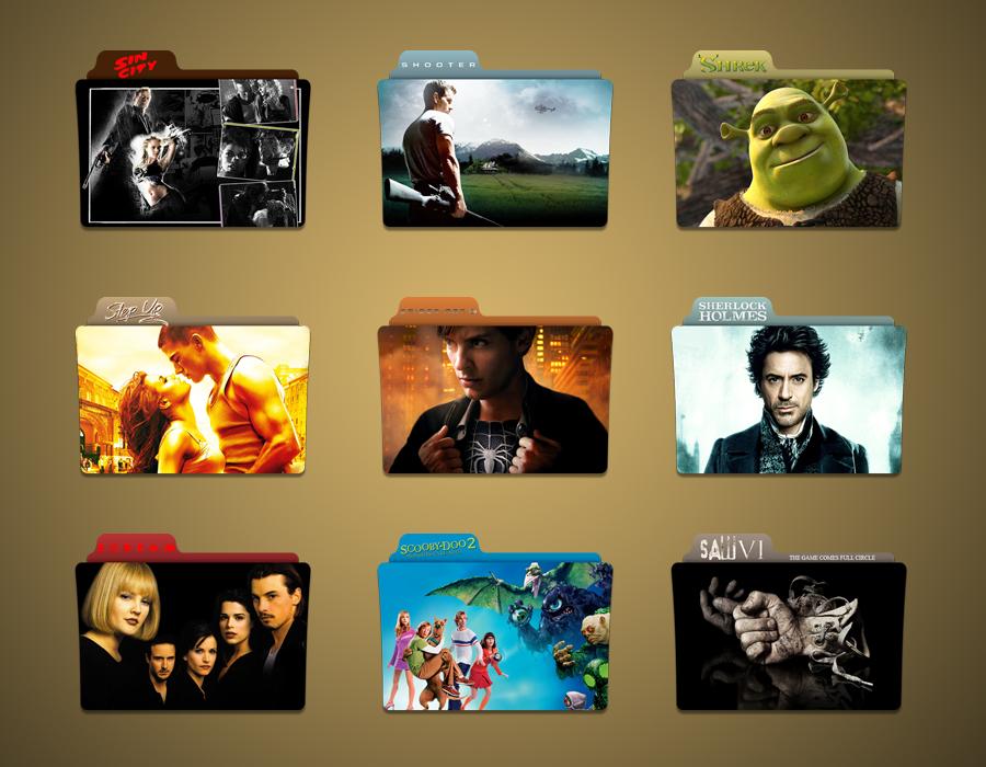 S Movie MEGA Folder Icon pack by Kliesen
