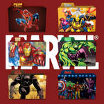 Marvel Shows Folder Icon Pack