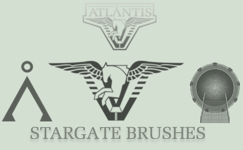 Stargate Brushes by MageStiles