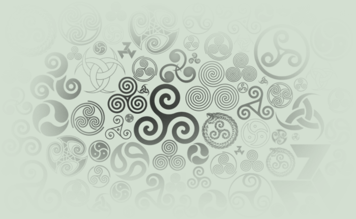 Triskelion Brush Pack (27 Different Triskele) by MageStiles
