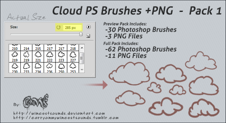 Photoshop Brushes favourites by Araceil on DeviantArt