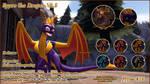 TSOS Donation Shop - Spyro the Dragon (Both)($ DL) by TyrakatheDragonFan