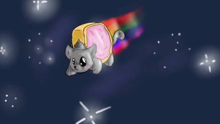 Nyan cat by ForestPanic