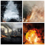 Pack of 4 Action Posters