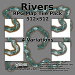 Rivers - Free RPG Map Tile Pack