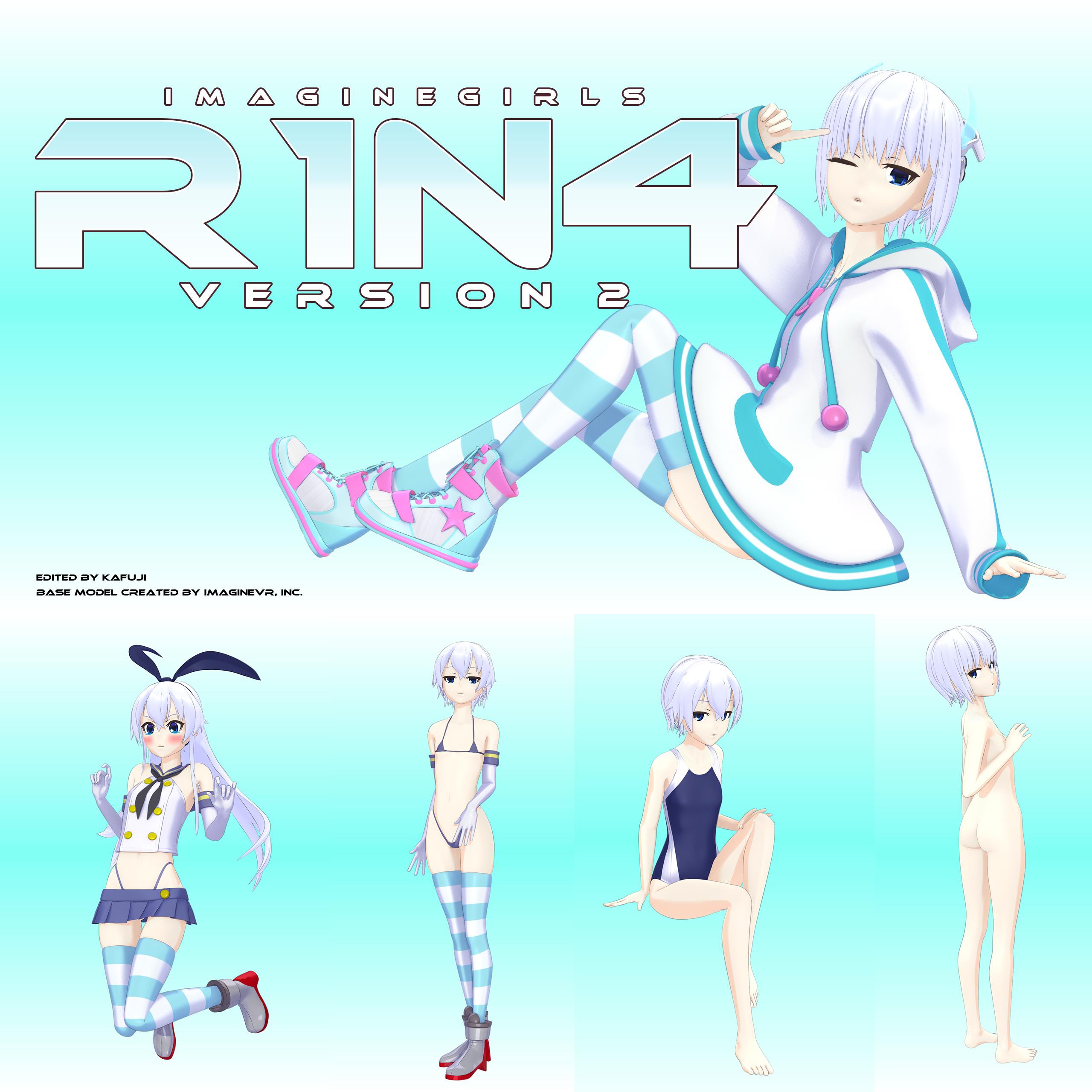 ImagineGirls R1N4 Version 2 (DL) by kafuji