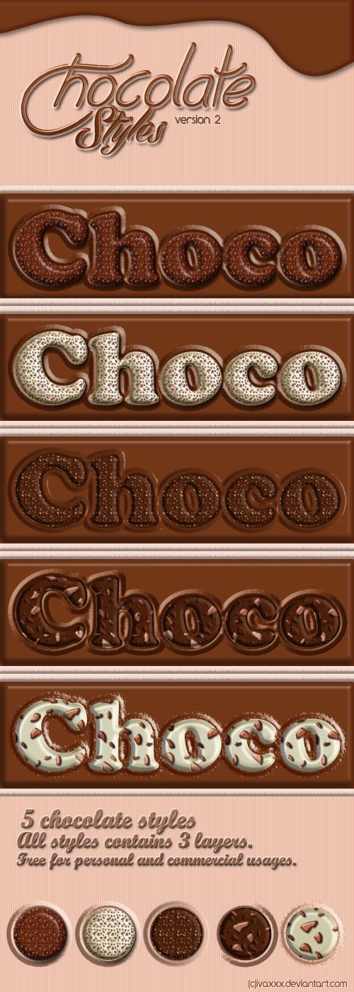 Chocolate Styles v2 by IvaxXx