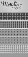7 Metalic Patterns by IvaxXx