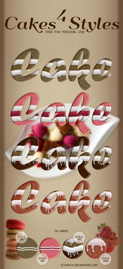 Cakes Styles