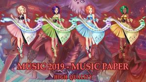 ELDARYA - Pack Music Paper