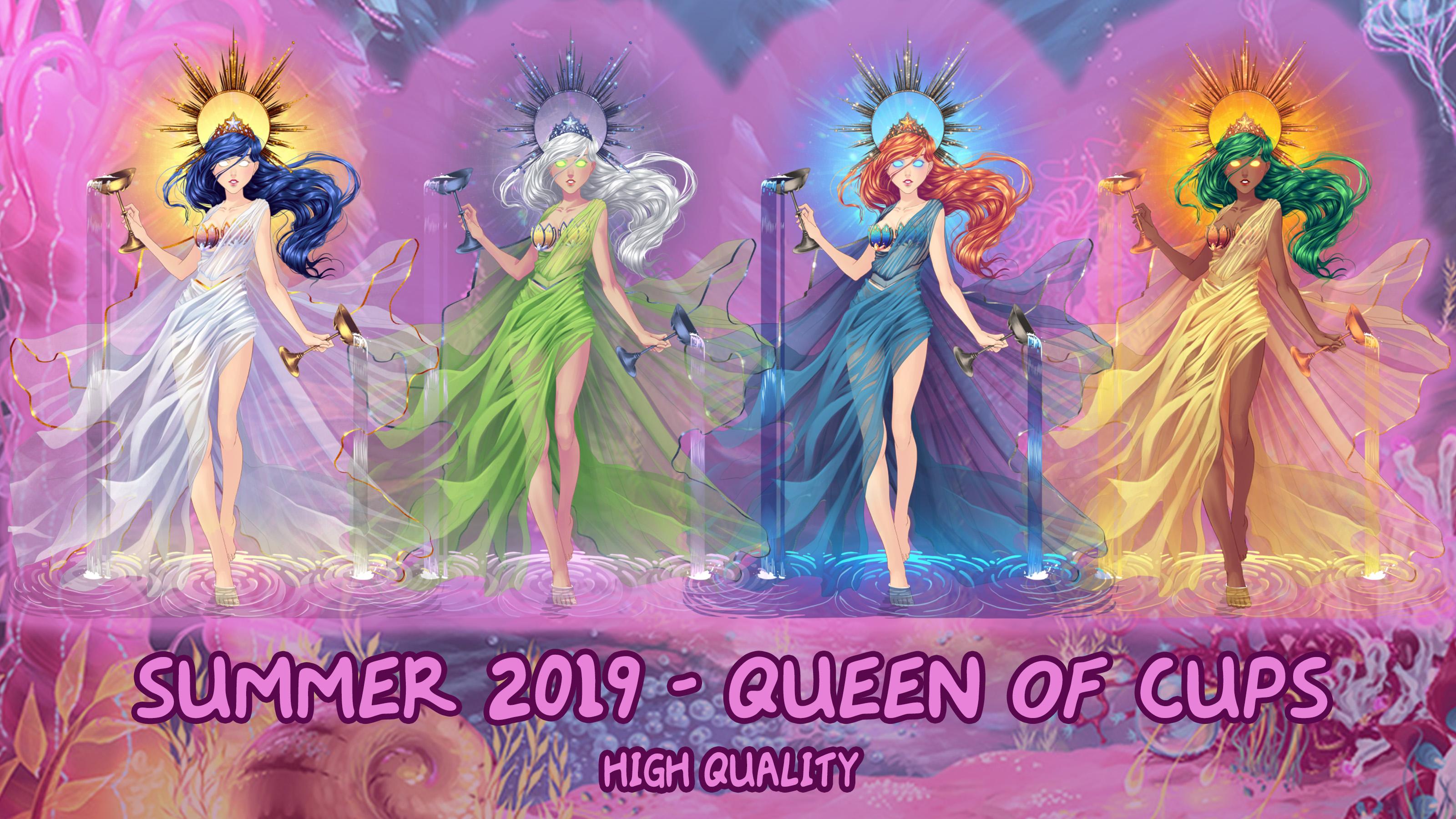 Eldarya Halloween 2020 Event Clothing ELDARYA   Pack Queen of Cups by HelenMegury on DeviantArt