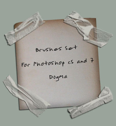 Band Aid brushes by W F Stock - Photoshop Brush