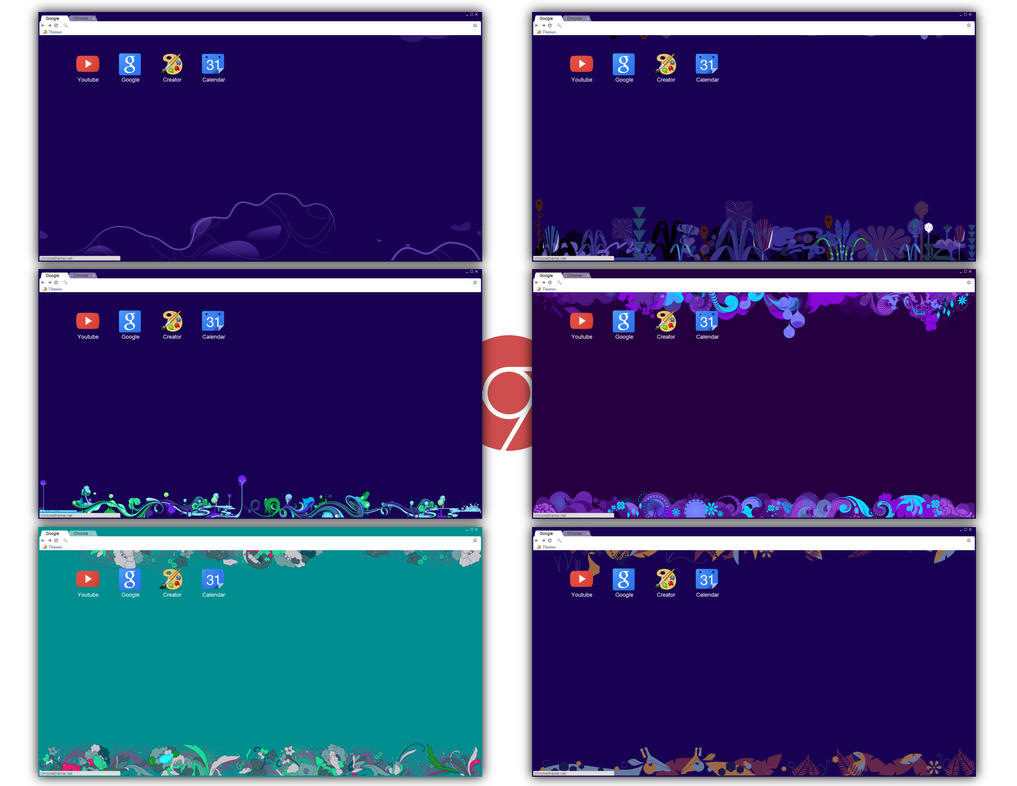 7 metro inspired themes for google chrome by underwatersun on deviantart