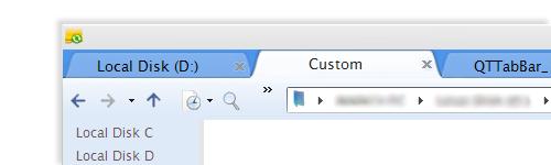 Chrome for QTTabBar by nikhil110