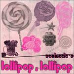 Lollipop,lollipop brush set ..