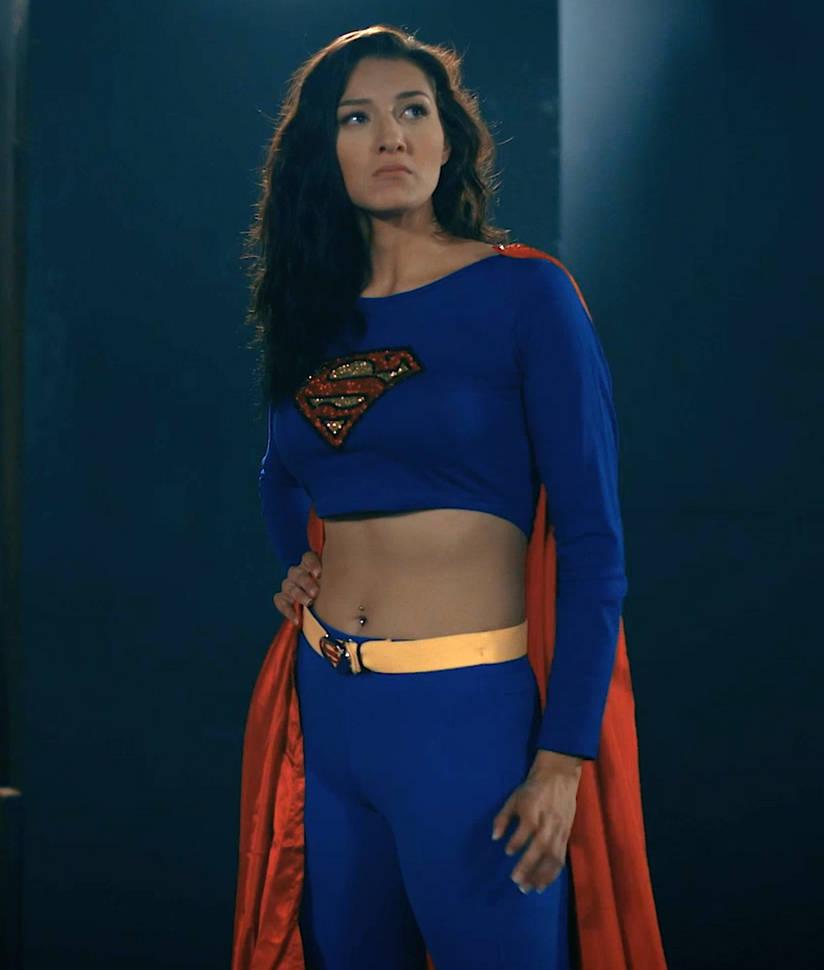 Superwoman Looks Around