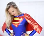 Another Pose-Striking Supergirl