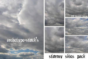 Stormy Skies Pack by archetype-stock