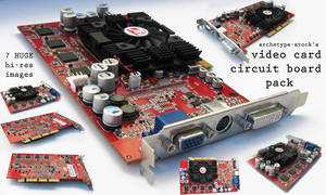 Video Circuit Board Pack 1