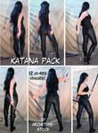 Comic Book Heroine Katana Pack