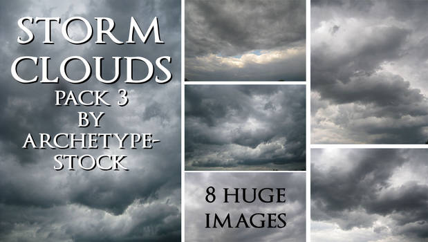 Storm Clouds Pack 3