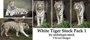 White Tiger Stock Pack 1