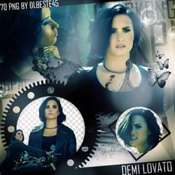 Demi Lovato-Confident Png Pack